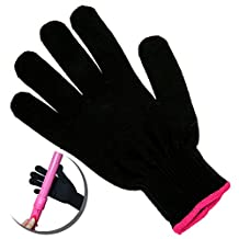 Professional Heatproof / Heat Blocking / Resistant / Insulation Glove for Hairstyling With Hair Styling Flat Irons, Curling Wands, Hot Rollers and Dryers for Left and Right Hands