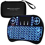 FAVI FE04 Multi-Touch Pocket Keyboard Mouse and Travel Case, Backlit (2018)