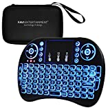 FAVI Multi-Touch Mini Keyboard & Mouse + Extra Travel Case