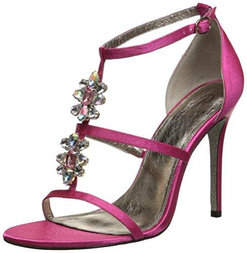Adrianna Papell Women's Daphne Dress Sandal Pink Sheena Satin 8oUnB