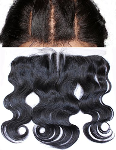 Hair Frontal Closure Bleached 10inch product image