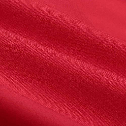 Autunno Moda Colore Donna Caldo Donne Manica Ragazza Di Cappotto Inverno Morwind Giacca Giubbotto Parka Delle Allentato Solido Lunga Red Invernale Top twOx67q