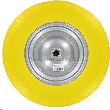 DWT de Alemania PU Rueda para carretilla, 4.00 – 8/100 x 400 mm