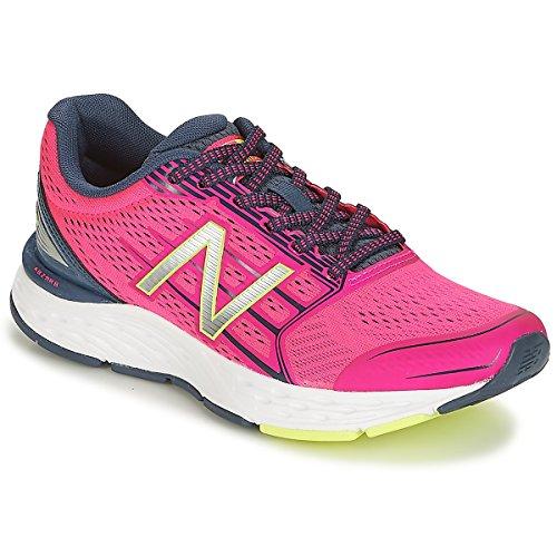 New Mujer Running Balance Para De Zapatillas Rosa W680v5 qwxUqOpAB