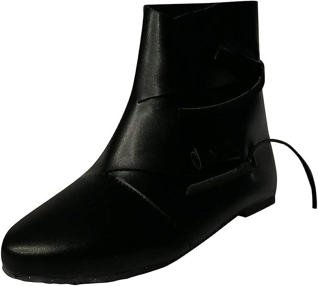 TWIFER Botas de Cuero para Mujer Zapatillas de Moda Botas de Vestir Invierno Calentar Casuales Motociclistas Cavalier Classic Comodos Antideslizante Marrón Negro 35-43