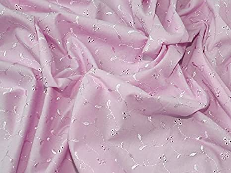 Broderie Anglaise 3 hole fabric