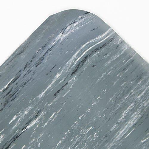 Crown Cushion-Step Mat, Rubber, 36 x 60, Marbleized Gray - one floor mat.