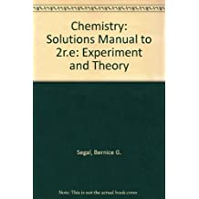 Chemistry: Experiment and Theory : Solutions Manual