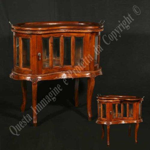 Couchtisch cm 77x46 h 76 - Holz, Antik, Klassisch, Italienischer Produktion