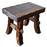 Chairs MEIDUO Solid Wood Stool Thickening Household Small Square Stool for Adult Children (Color : A)
