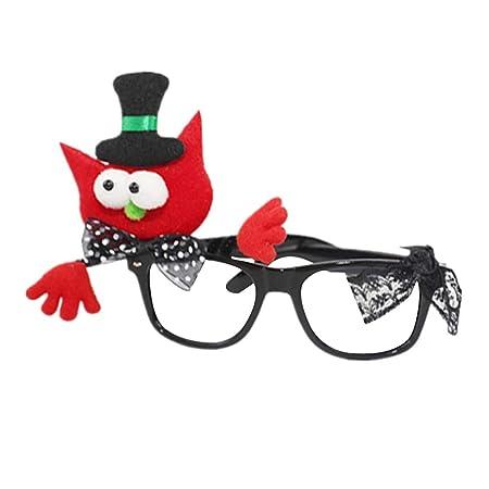 Amosfun - Gafas de Disfraz para Halloween: Amazon.es: Hogar