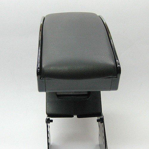 Boloromo 48006 Padded Universal Center Console Armrest Black