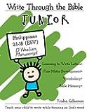 Write Through the Bible, Junior: Philippians 2:1-18 ESV, D'Nealian Manuscript