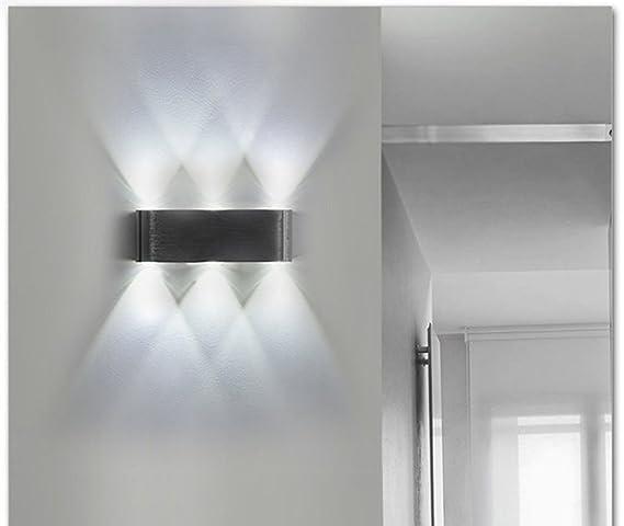 dong Lampada da Parete Stile Moderno in Alluminio 8w-LED, Luci da ...