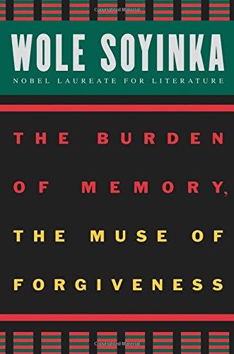 The Burden of Memory, the Muse of Forgiveness (W.E.B. Du Bois Institute)