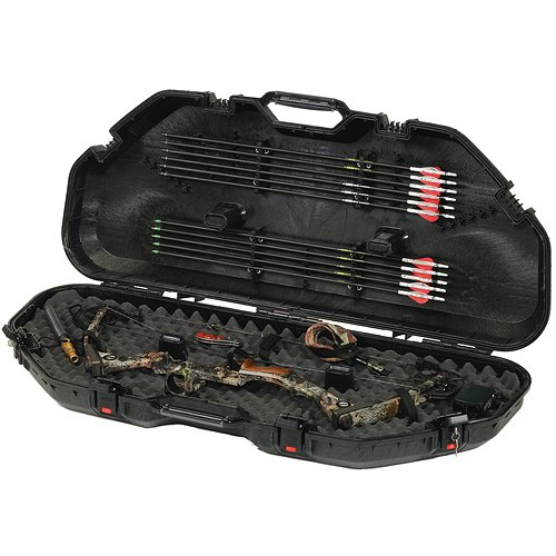 Plano 108110 Allweather Bow Case Black by Plano Molding