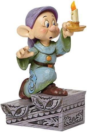 Jim Shore Disney Snow White Dopey Light Up A Light in the Dark Figurine