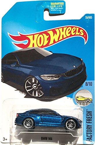 Hot Wheels 2017 Factory Fresh BMW Model M4 55/365, Blue