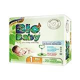 Bio Baby, Unisex, Talla Recién Nacido, 160 Pañales (La imagen del empaque puede variar)
