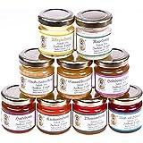 9x 50g Honig Probierset – zum Kennenlernen, Kombination variiert (von Imkerei Nordheide)