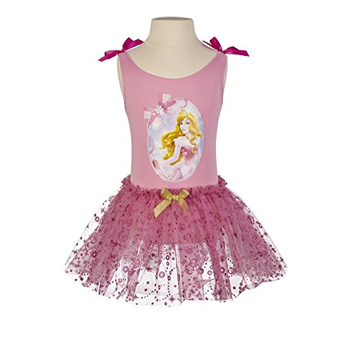 Disney Princess Sleeping Beauty Ballet Tutu and Leotard Set