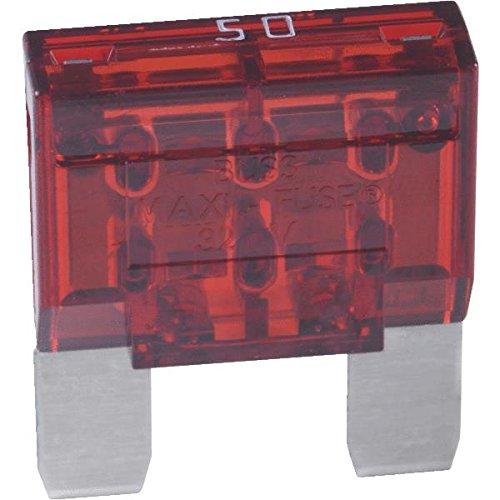 Bussmann BP/MAX-50-RP MAXI (MAX) Automotive Fuse (50 Amp (Card)), 1 Pack