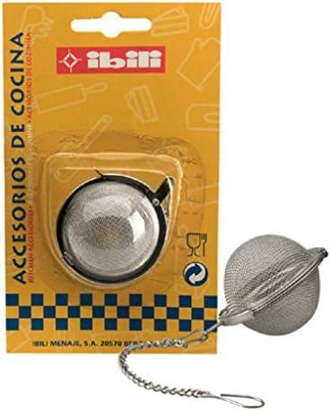 IBILI 761600 - Caja De Infusion-Bola INOX 18/10: Amazon.es: Hogar