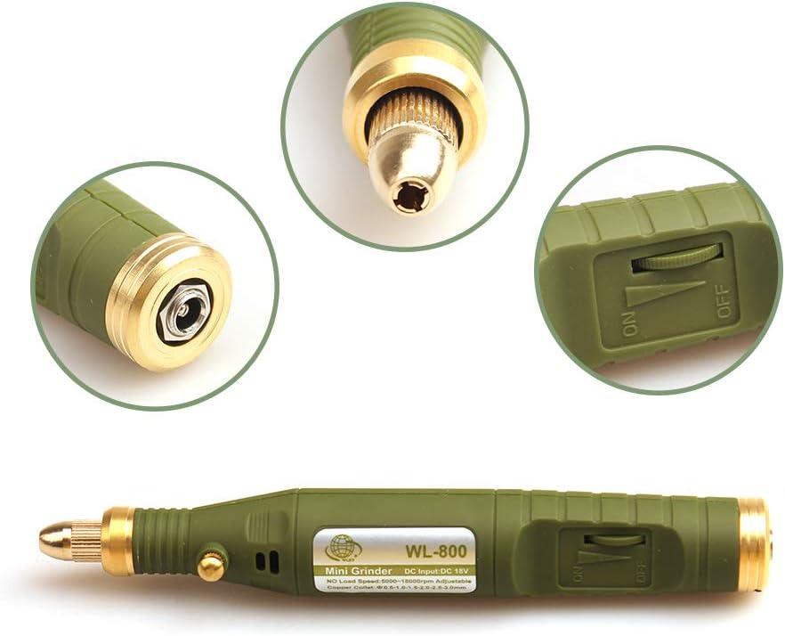 P-500-6 Boli de Grabador El/éctrico 105pcs Kit de Herramientas de M/áquina de Grabado para la Joyer/ía de Bricolaje Vidrio de Metal Conjunto de Precisi/ón de /ágata de Jade