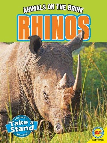 Read Online Rhinos (Animals on the Brink) pdf epub