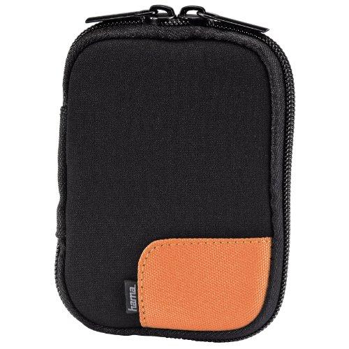 Hama Fancy Turnover DF 21 Kompaktkamera-Tasche schwarz/orange