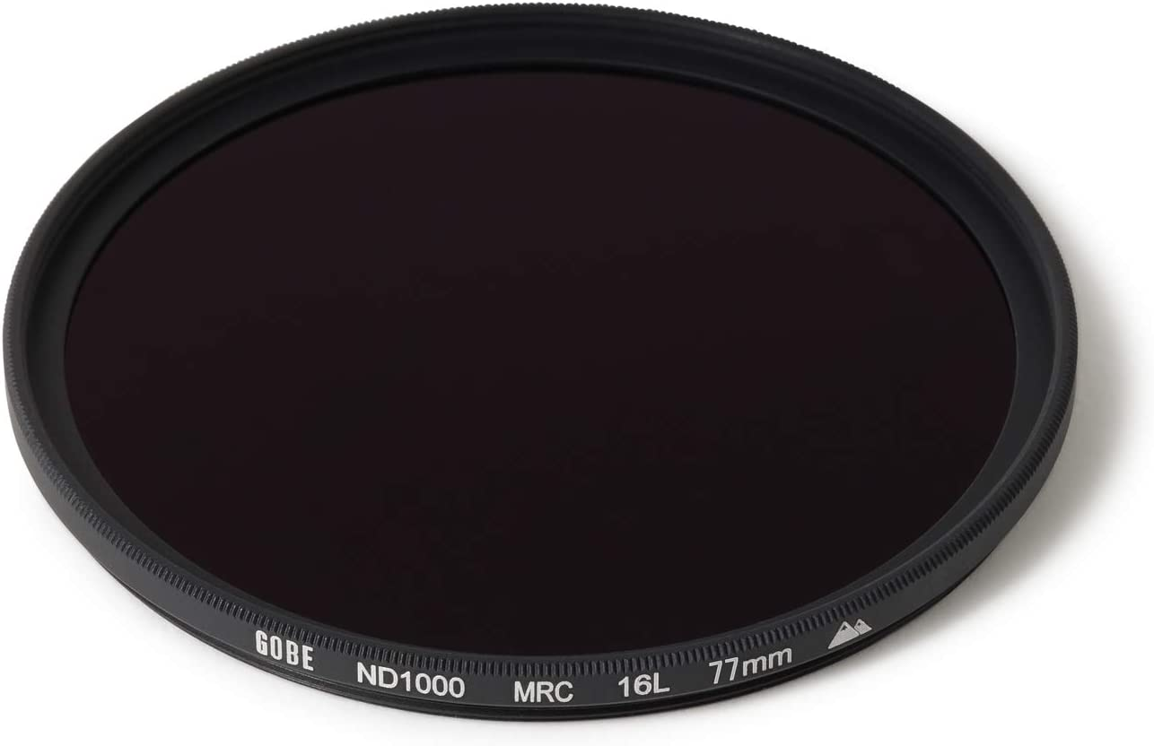10 Stop ND Lens Filter 2Peak Gobe 43mm ND1000