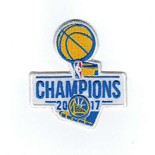 2017 NBA Finals Champions Golden State Warriors Basketball Jersey Patch by Patch Collection