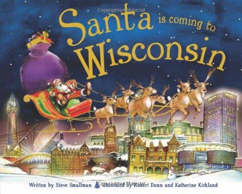 Download Santa Is Coming to Wisconsin pdf epub