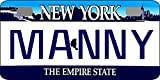 Personalized New York 2001 Bicycle Replica License Plate any name