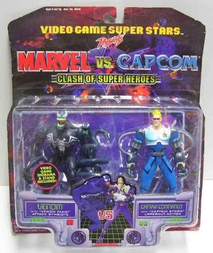 Amazon.com: Venom vs Captain Commando: Toys & Games