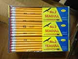 Pencils Pre-sharpened No. 2 144/box 12 Boxes of 12  New Improved Eraser