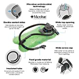 hydrostyle-Hydration-Bladder-Water-Reservoir-Bag-for-Hiking-Biking-Running-Camping-and-all-Outdoor-Activities-3-L-Green