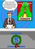 Rudolph Goes Postal Christmas Greeting Card