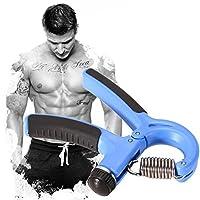 WinnerEco Grip Strengthener Adjustable Hand Exerciser Resistance 22 to 88 Lbs Blue