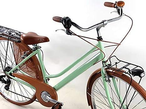 Bicicleta Mujer Vintage retro Bici De Paseo Ruedas 28″ con Shifter ...