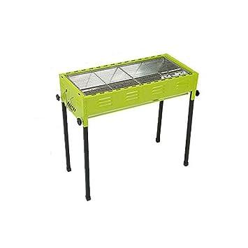 Barbacoa- Parrilla portátil al Aire Libre Engrosamiento hogar Conjunto Completo de 5 o más