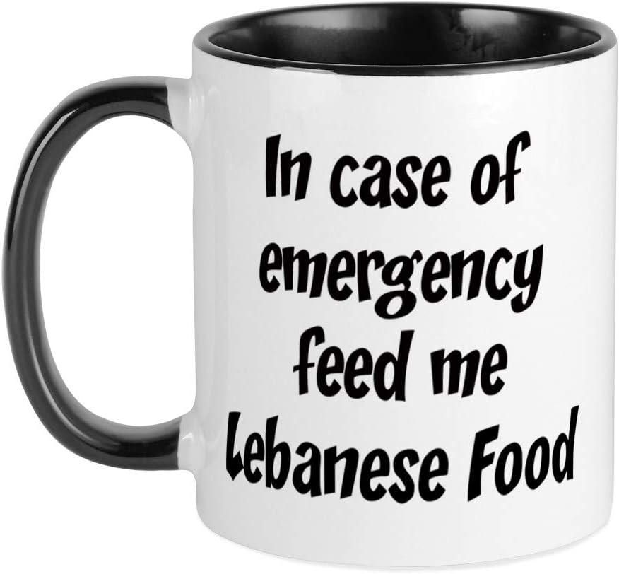 CafePress Feed Me Lebanese Food Mug Unique Coffee Mug, Coffee Cup
