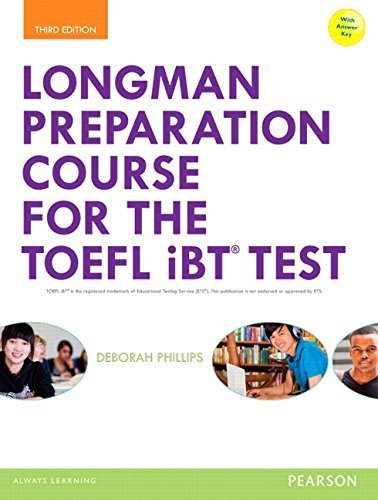 By Deborah Phillips - Longman Preparation Course for the TOEFL® iBT Test, with MyEngli (3rd Edition) (2014-08-09) [Paperback]