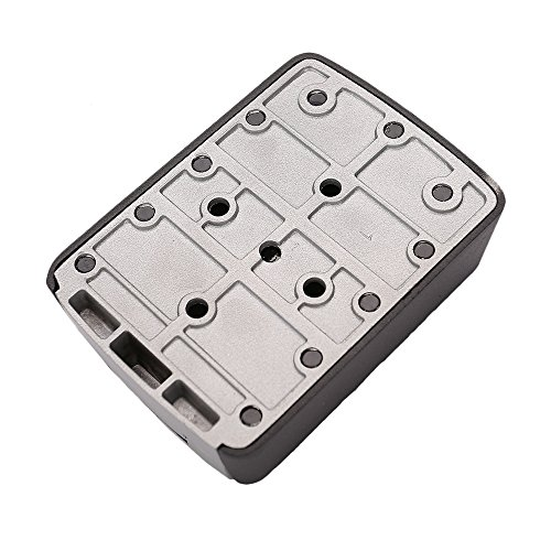 Tekmun Realtor Wall Mount Key Lock Box with 4-Digit Combination Made of Weather Resistant Steel for Indoors or Outdoors Holds up to 5 Keys by Tekmun (Image #6)
