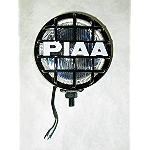 "PIAA 510 Xtra Super White Driving Lamp Individual 4"" Round Enclosure"