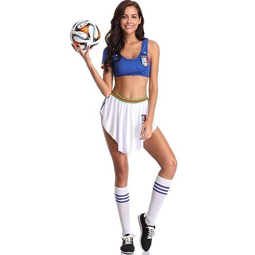 WWAVE Rendimiento de fútbol Chica Animadora Disfraz señora ...