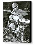 Rare Framed NHL Hockey Engraving The Stanley Cup Vintage Jumbo Giclée Print