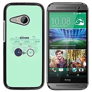 Skull Market - FOR HTC ONE MINI 2 / M8 MINI - ?I will be right here - Mano cubierta de la caja pintada de encargo de lujo
