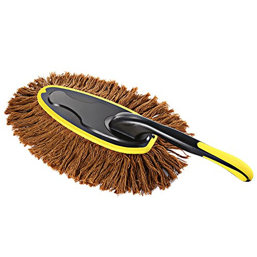 AUTOLOVER Car Duster & Car Wash Brush,car wax Car Microfiber Brush Rotatable Bar For Exterior or Interior Use Car Cleaning Kit For Dust With Storage Case