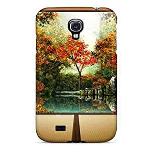 Quality BJBcke Case Cover With Autumn In Japan Nice Appearance Compatible With Galaxy S4